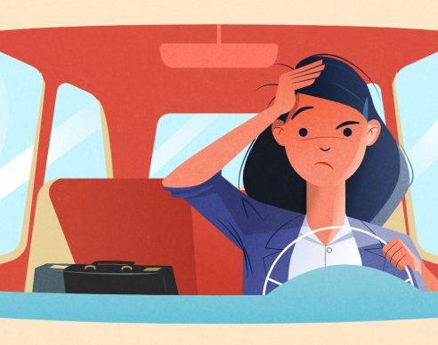 Five practices for a productive commute